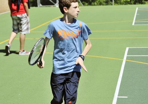 Bournemouth Collegiate School Tennisplatz