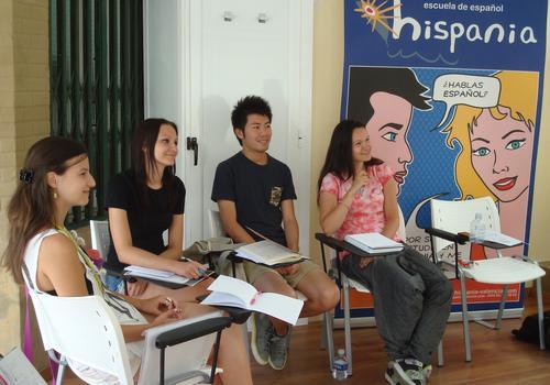 Hispania, Escuela de Español