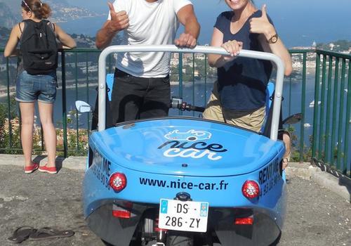 Aktivität: Nizza mit den Mini Cars erkunden