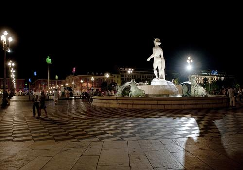 Nizza: in der Nacht