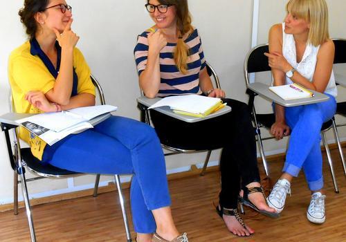 Französisch für den Beruf in Kleingruppen von max. 3 Sprachschülern
