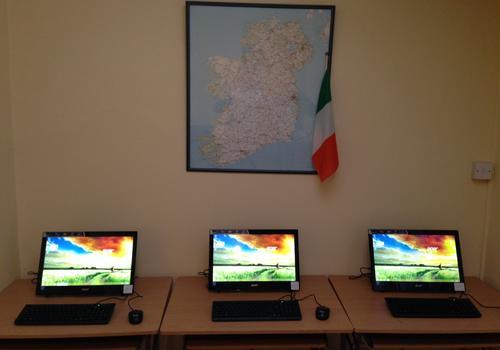 Zusätzliche PCs in der Student Lounge