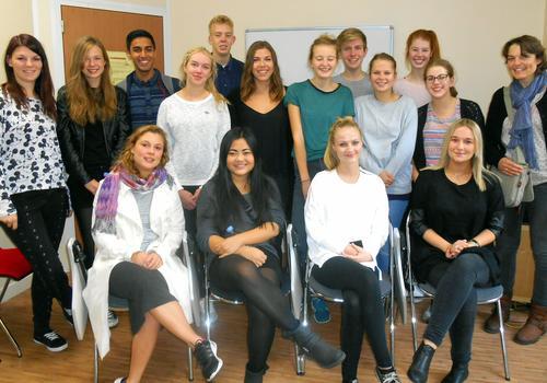 Sprachschüler in einem Französisch-Intensivsprachkurs in ACCORD Paris