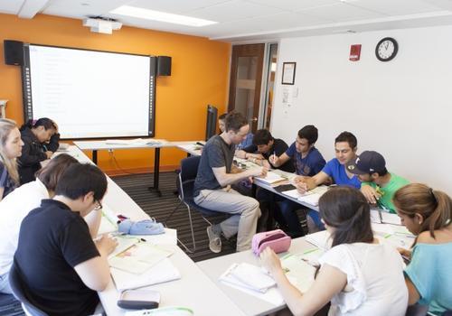 EC Boston Klassenzimmer