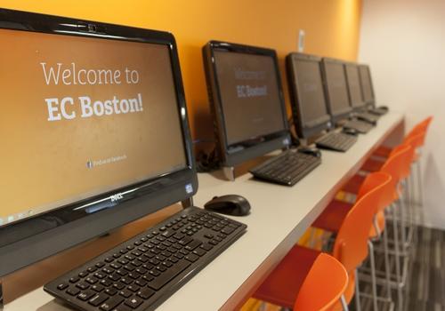 EC Boston Computerraum