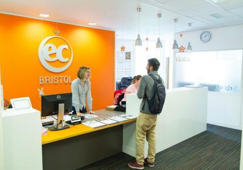EC Bristol Empfang