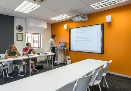 EC Kapstadt Klassenzimmer
