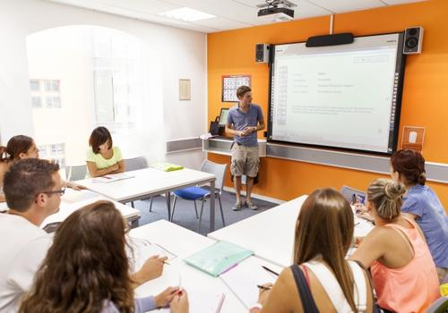 EC Malta Klassenzimmer
