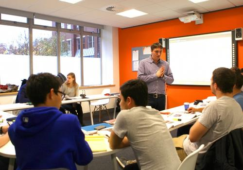 EC Manchester Klassenzimmer