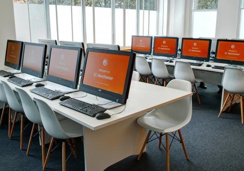 EC Manchester Computerraum