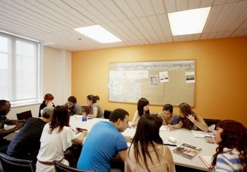 EC Montreal Klassenzimmer
