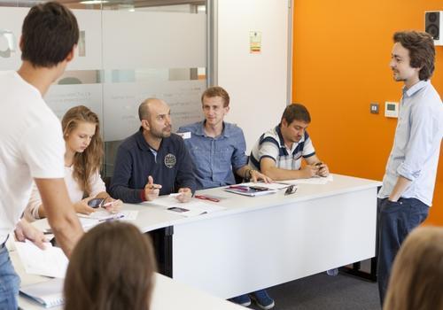 EC Oxford Klassenzimmer