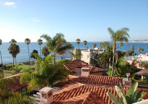 Ausblick von der EC San Diego Terrasse