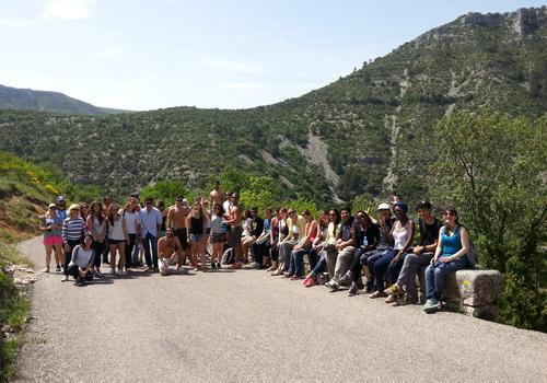 Exkursion mit unserem Tourguide 2