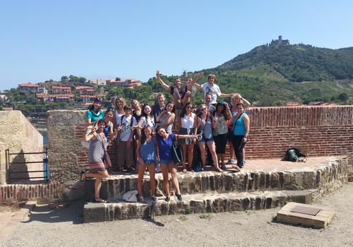 Exkursion mit unserem Tourguide 3
