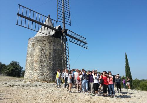 Exkursion mit unserem Tourguide 4