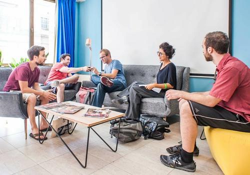 Expanish Student Lounge