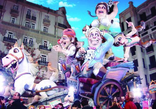TARONJA Valencia Fallas Festival