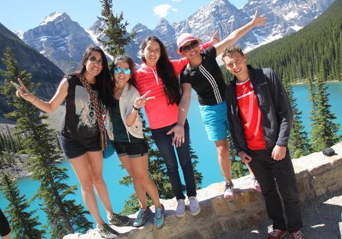 Internationale Sprachschüler in unserer Summer School