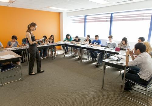 EC Vancouver Klassenzimmer