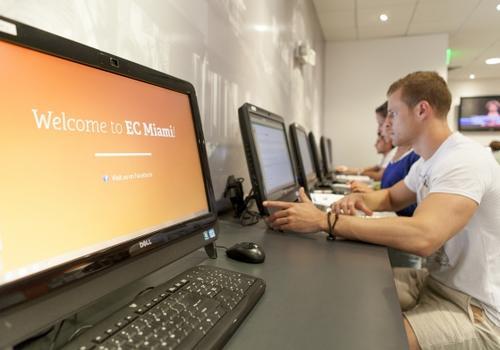 EC Miami Computerbereich