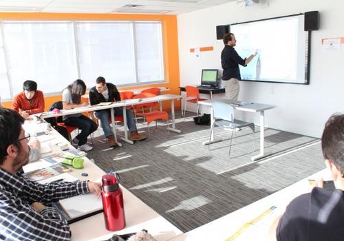 EC Toronto Klassenzimmer