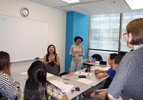 Klassenzimmer von iTTTi Vancouver