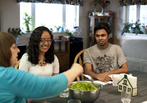 iTTTi Vancouver - Abendbrot mit der Gastfamilie