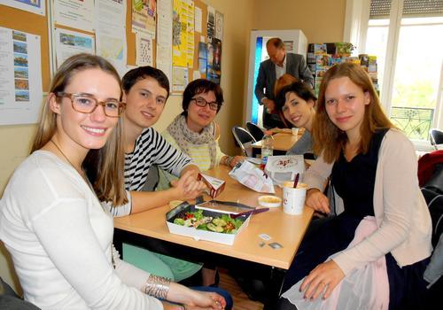 Sprachschüler in unserer ACCORD Cafeteria