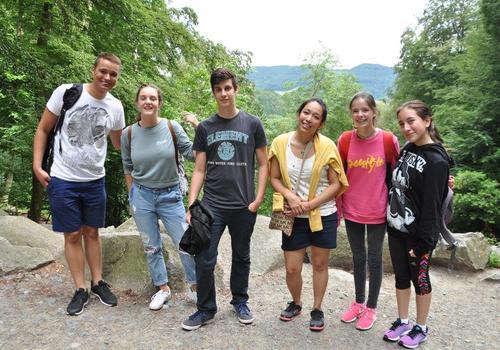 Tagesausflug mit unseren Sprachschülern