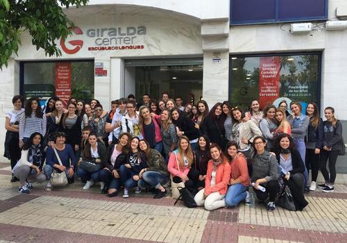 Unser Team in Sevilla