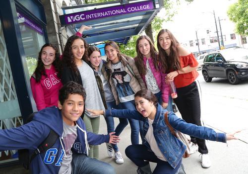 Jugendliche Sprachschüler in unserer Summer School