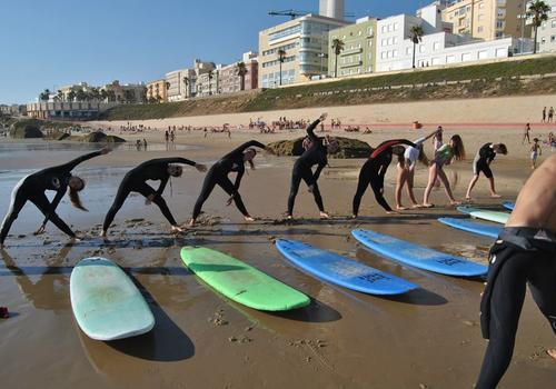 Surfunterricht 2