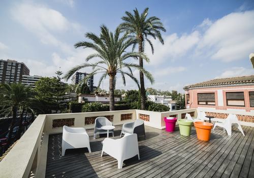 Dachterrasse: Hispania, Escuela de Español
