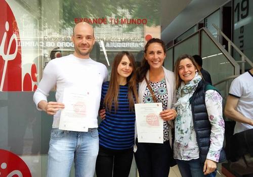 Spanischschüler bei Academia Contacto Valencia