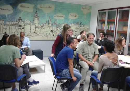 Klassenzimmer von Academia Contacto