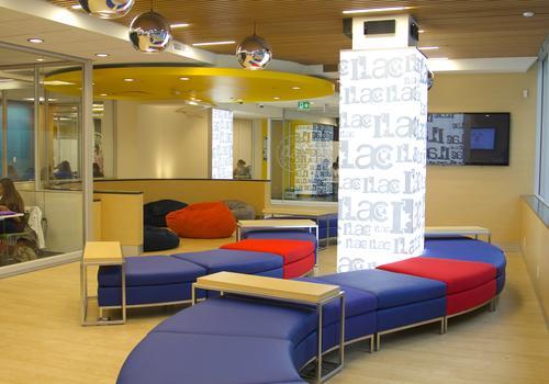 ILAC Vancouver Campus Lounge