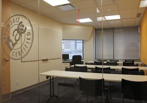 ILAC Vancouver Campus Klassenzimmer